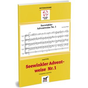 SEEWINKLER ADVENTWEISE Nr. 1 (für 4 Bb-Klarinetten, Bassklarinette ad lib.)