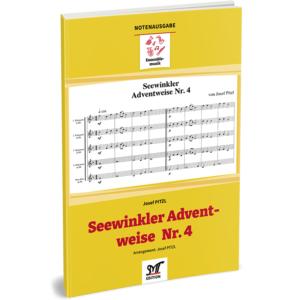 SEEWINKLER ADVENTWEISE Nr. 4 (für 4 Bb-Klarinetten, Bassklarinette ad lib.)