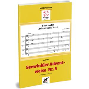 SEEWINKLER ADVENTWEISE Nr. 5 (für 4 Bb-Klarinetten, Bassklarinette ad lib.)